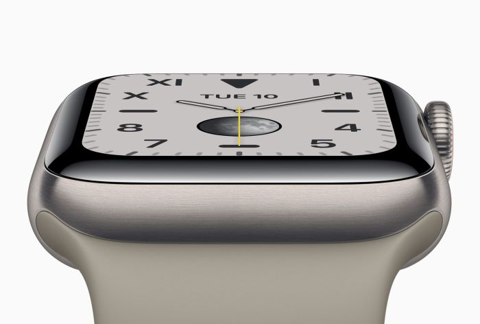 El gran upgrade del Apple Watch Series 5