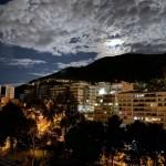 Foto de la ciudad y el cielo con el iPhone 11