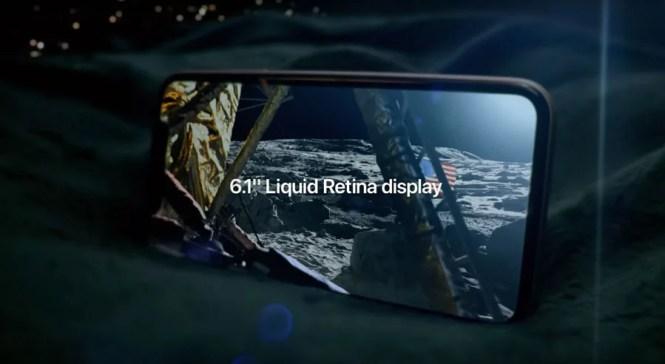 Pantalla liquid retina del iPhone 11