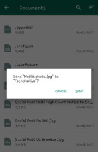 Send Uncompressed Image in Whatsapp Snap 4