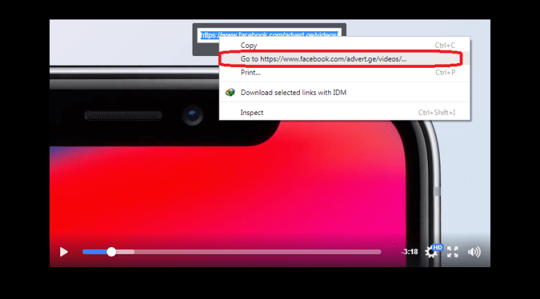 Step 3 download facebook videos without any software