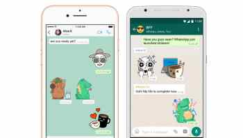 WhatsApp Now Supports Stickers