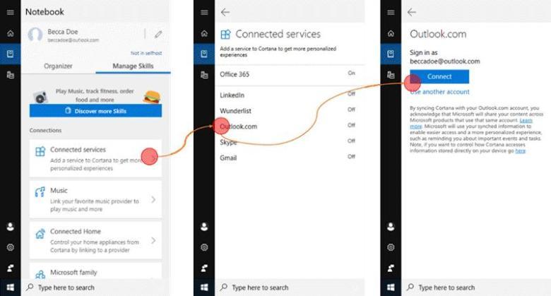 Microsoft To Do and Cortona Integration