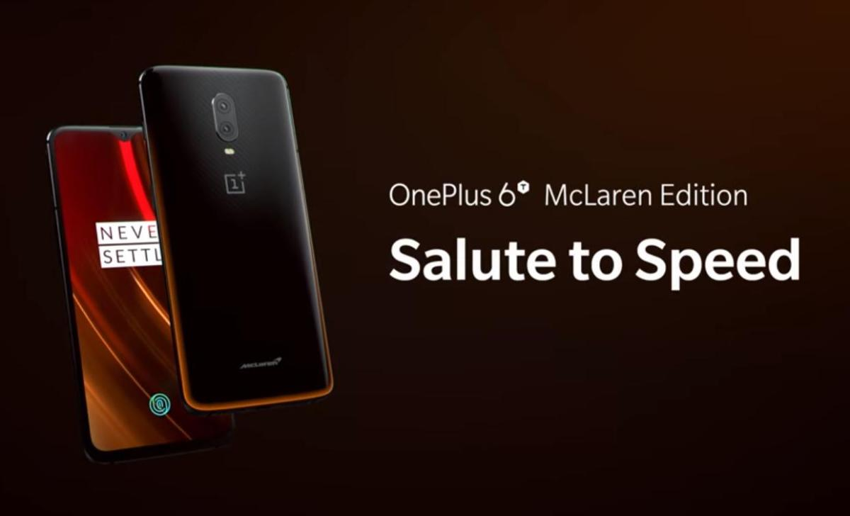 OnePlus officially Unveils 6T McLaren Edition
