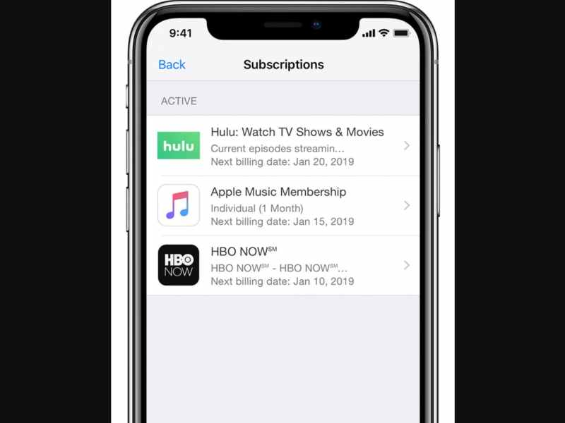 Apple Updates Managing Subscriptions from App Store