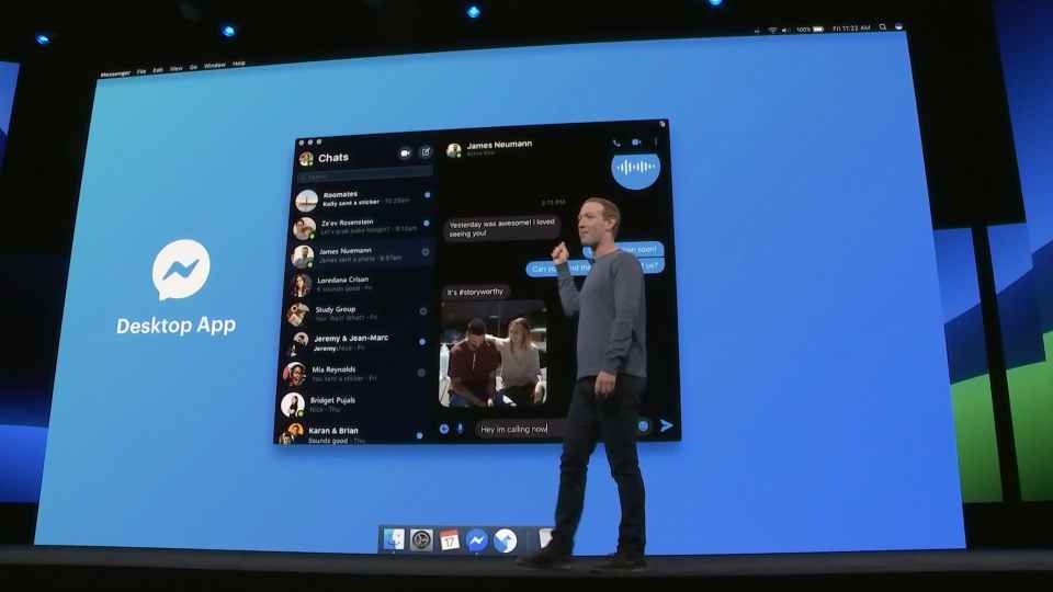 Facebook Looks forward to roll out Messenger for Windows and iOS in Native Mode