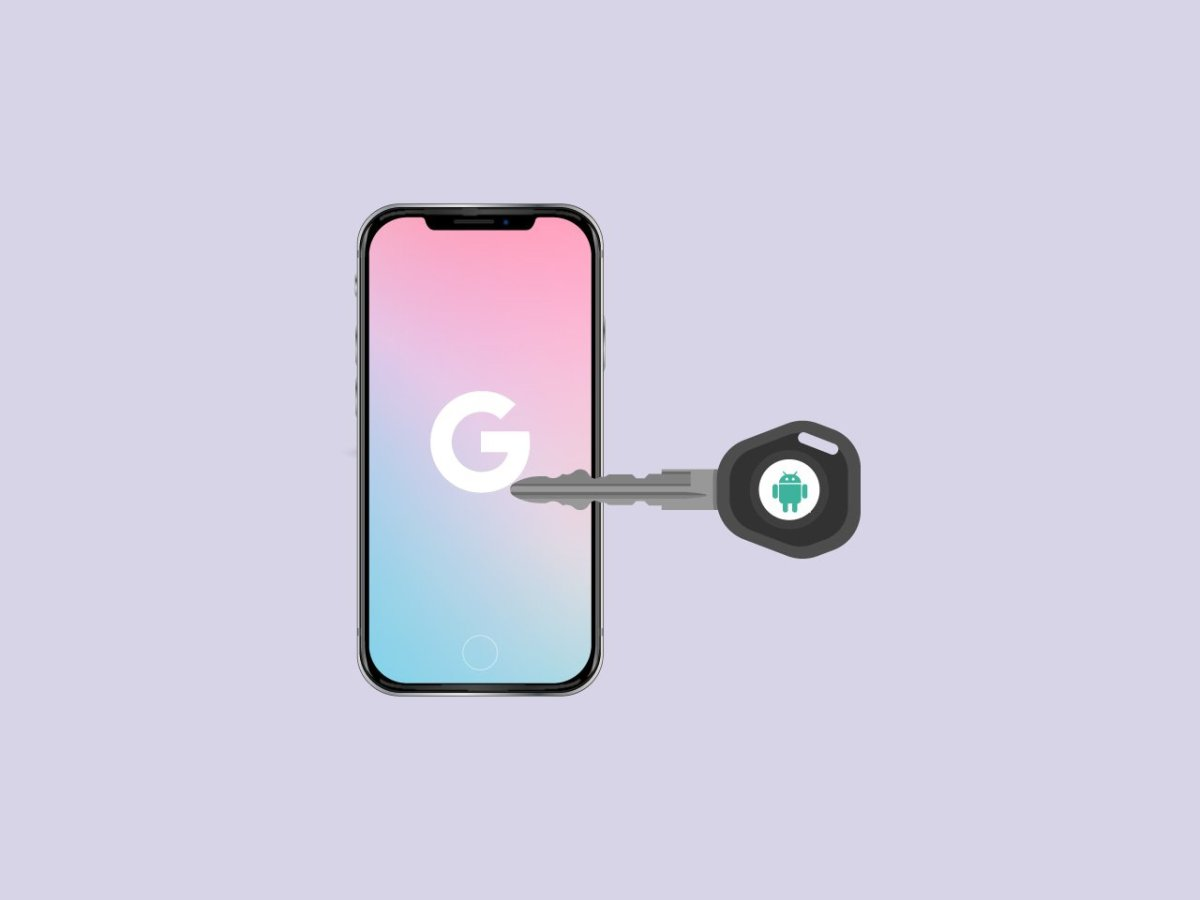 Android Device to secure Google Accounts in iOS Devices