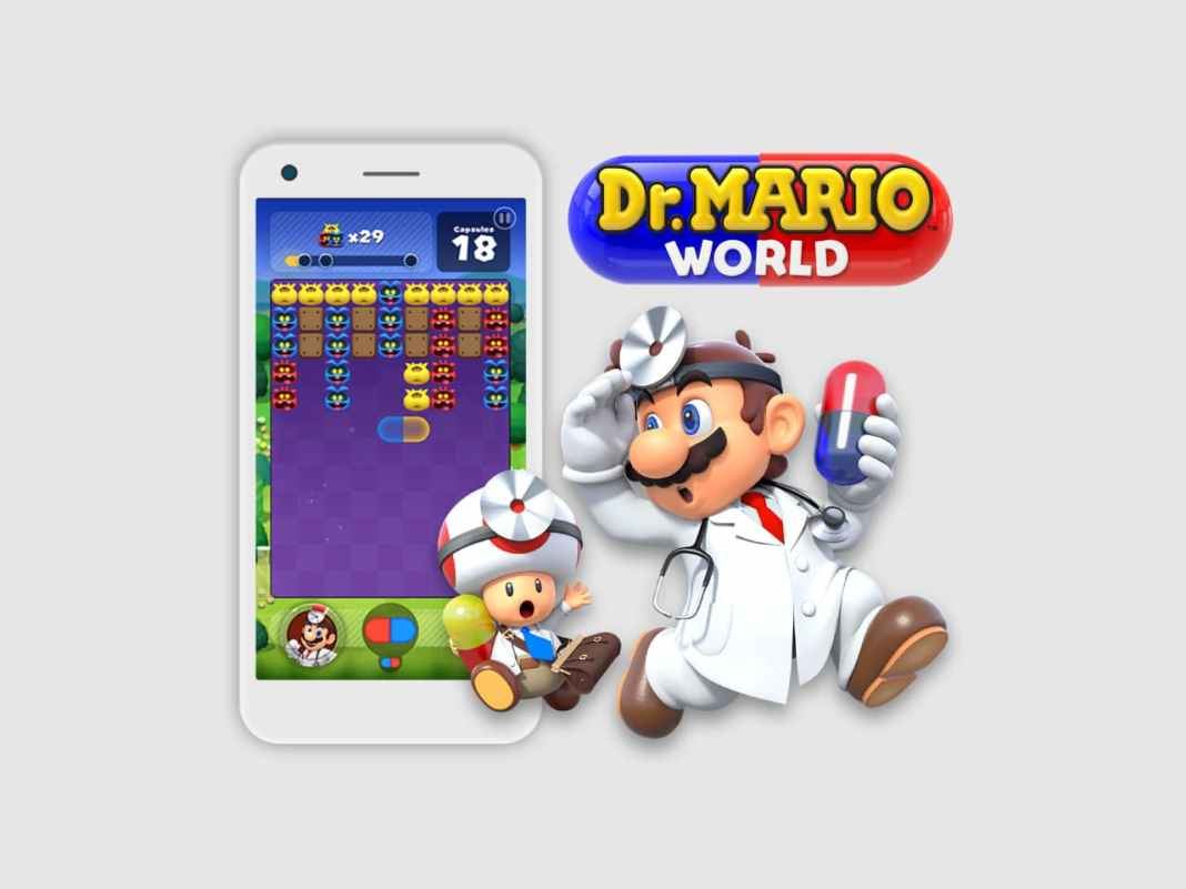 Dr. Mario World Game
