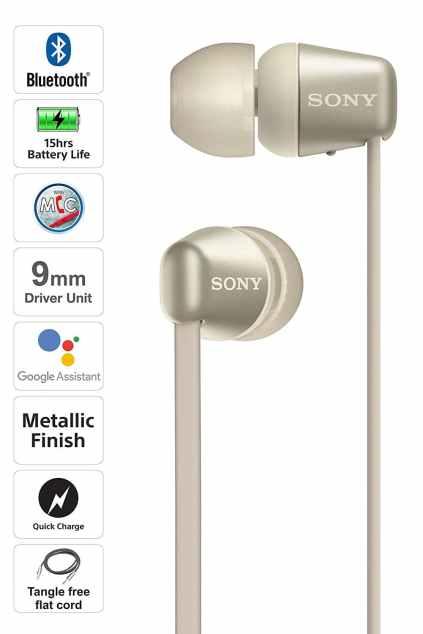 Sony Wireless Neckband Headphone WI-C310