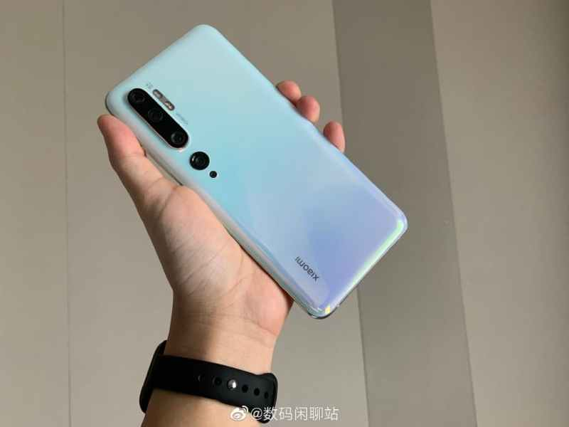 Mi Note 10 has 108MP camera at the back