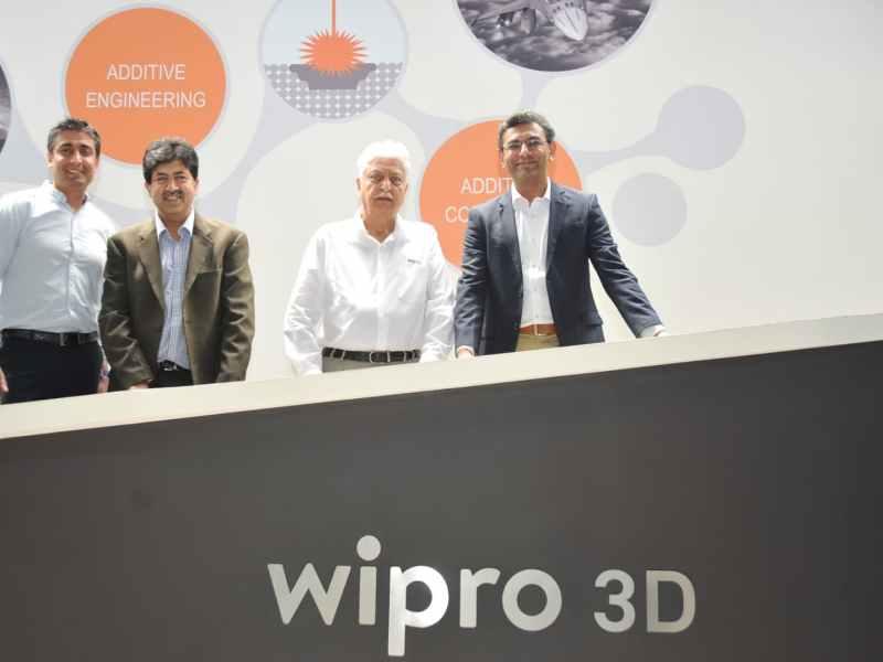 wipro iisc build india first metal 3d printing machine