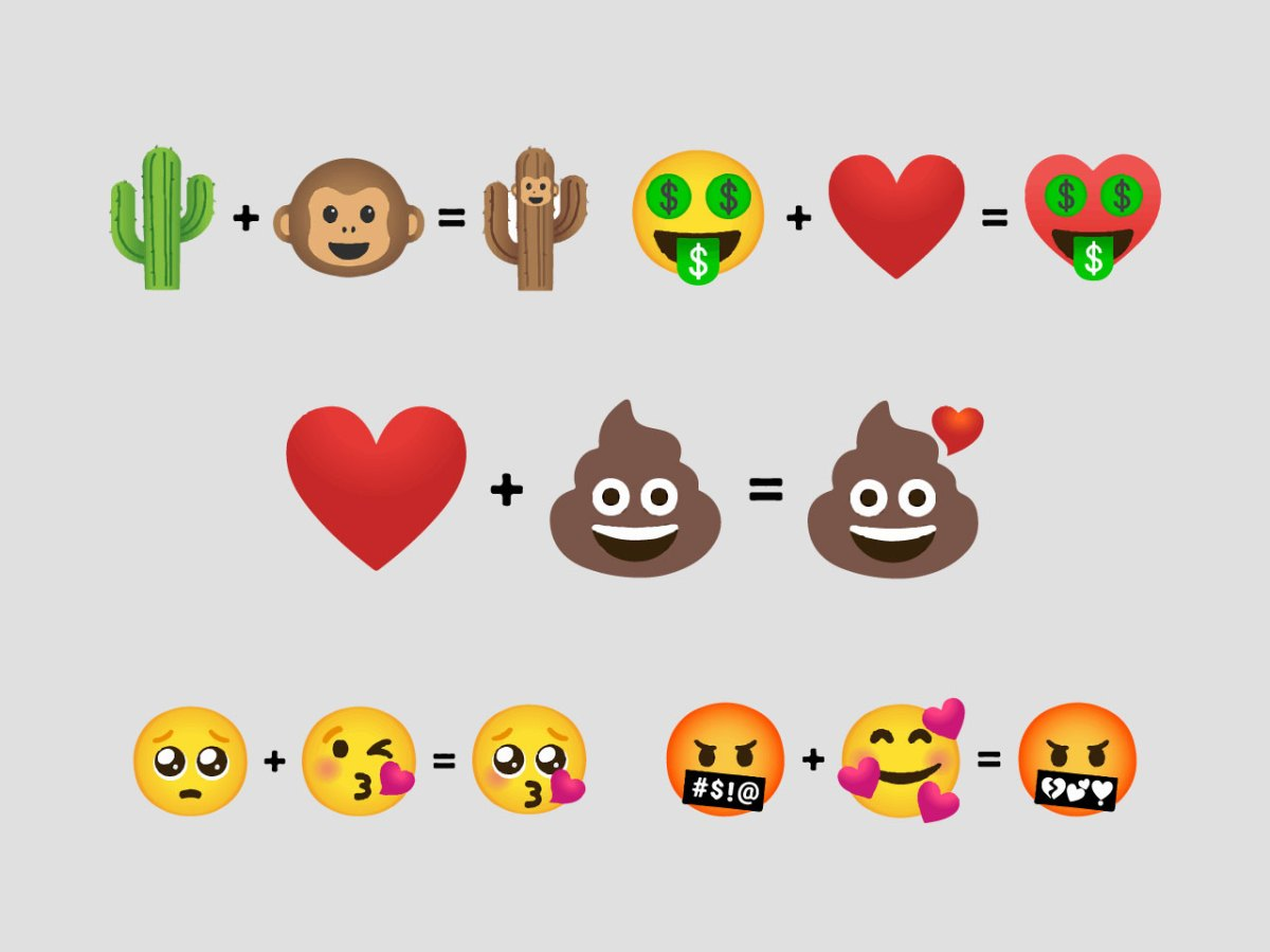 Gboard Launches Emoji Kitchen