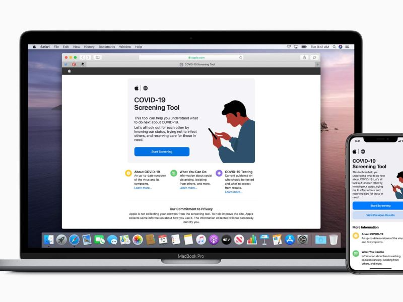 Apple Launches COVID 19 Screening Tool