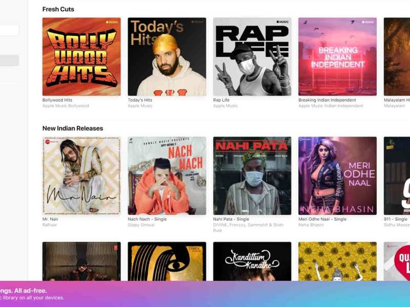 Apple Music for Web is now live and out of Beta