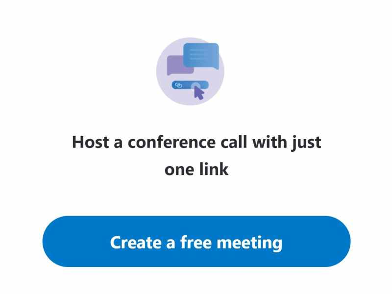 how use skype meet now without skype account