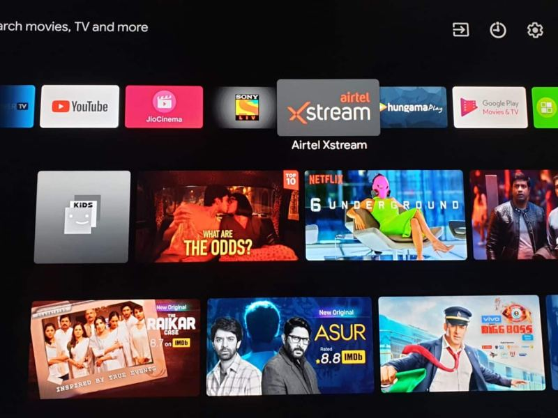 airtel xstream app on android tv