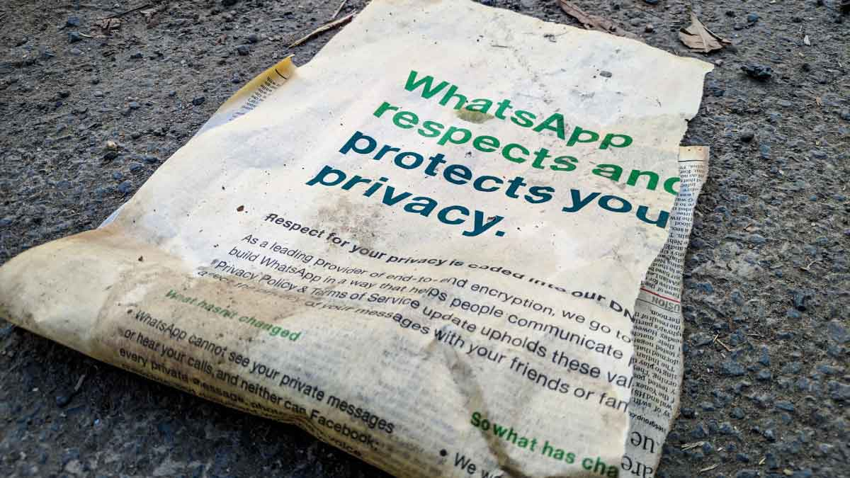 WhatsApp Limit Account Functionalities not accepting new privacy policy