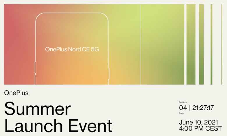 OnePlus Summer Launch Event 2021