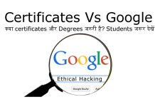 Ethical Hacking & Certificates
