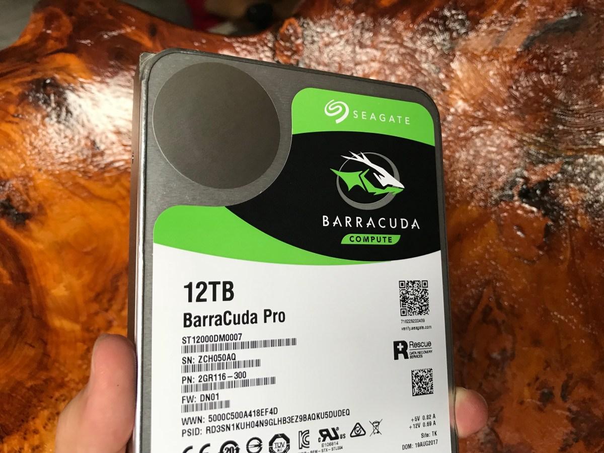 Seagate 12TB BarraCuda Pro