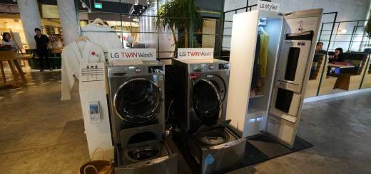 LG TWINWash and Styler