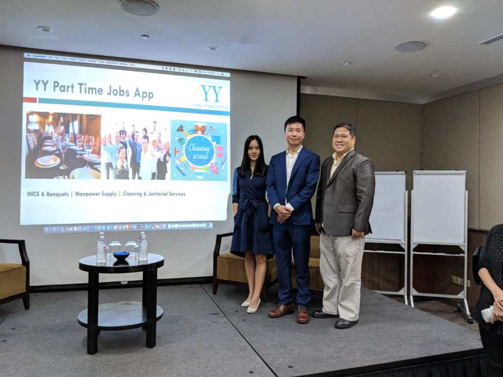 YY Part Time Jobs app launch | YY Hong Ye Group