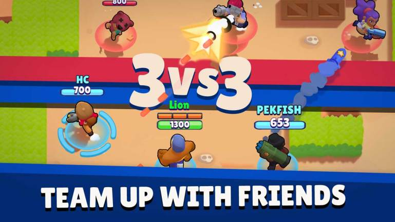 Brawl Stars Team Up