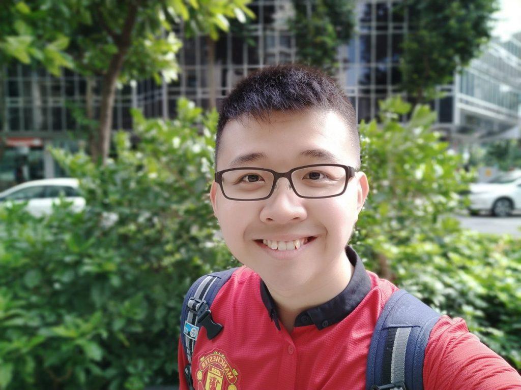 Vivo X21 - Selfie without AI Beauty Selfie