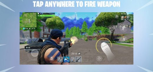 Fortnite on mobile