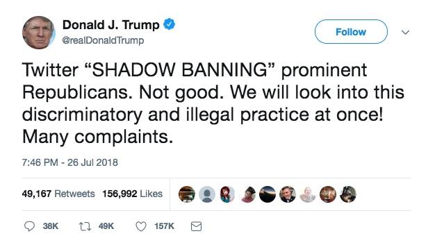 Shadowbanning