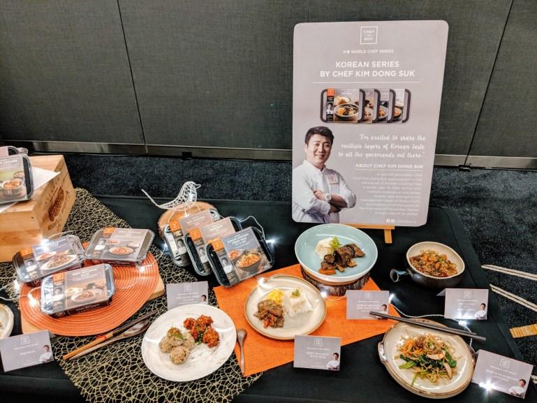 Chef-in-Box VendCafe - Korean Selection