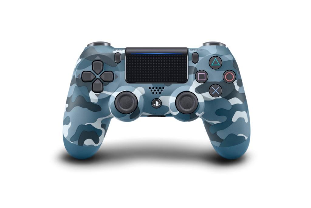 Wireless DUALSHOCK Controller_Blue_Camouflage