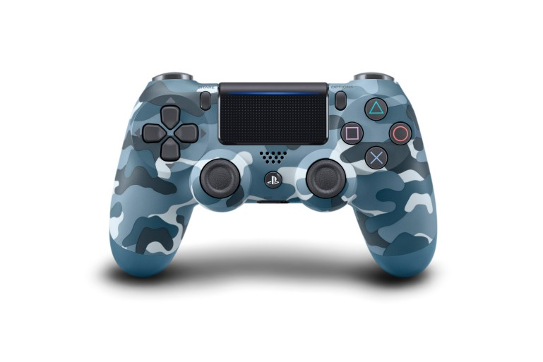 Wireless DUALSHOCK Controller_Blue_Camouflage
