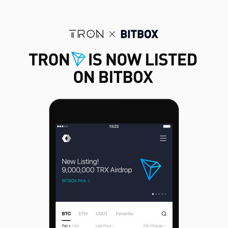 BITBOX and TRON