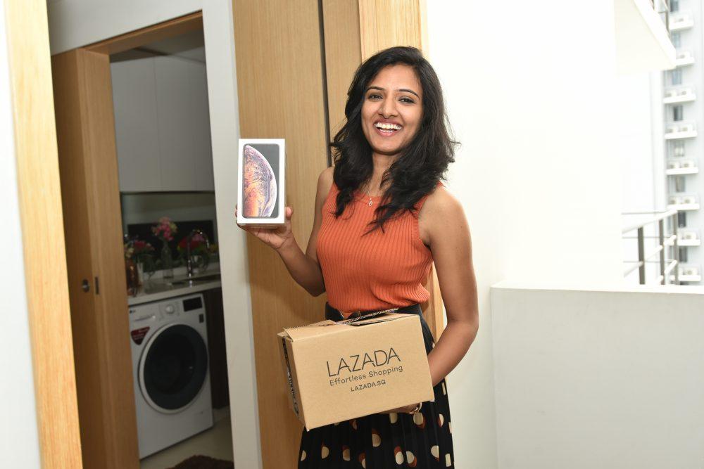 Lazada shopper - Rekha Nallamothu