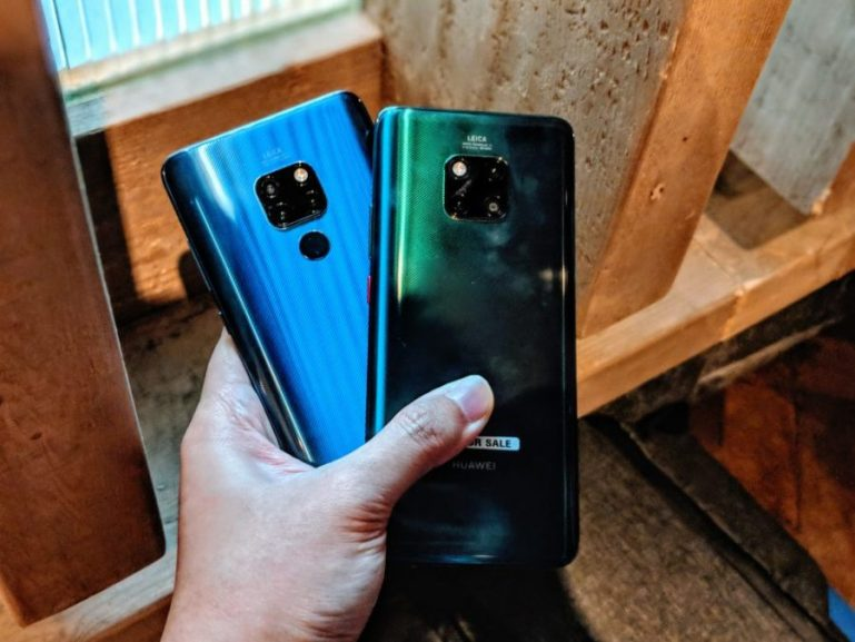 HUAWEI Mate 20 and Mate 20 Pro