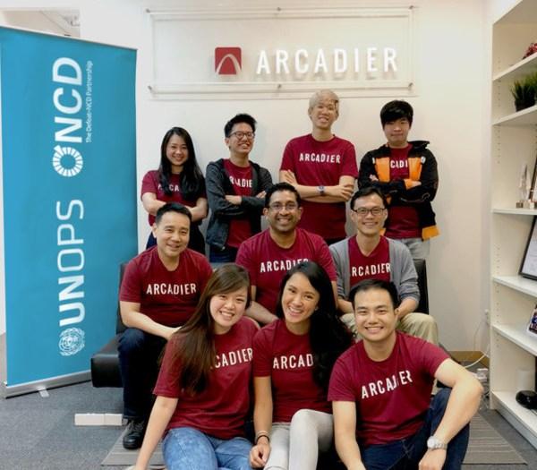 The Arcadier Defeat-NCD Marketplace development team. Courtesy of Arcadier