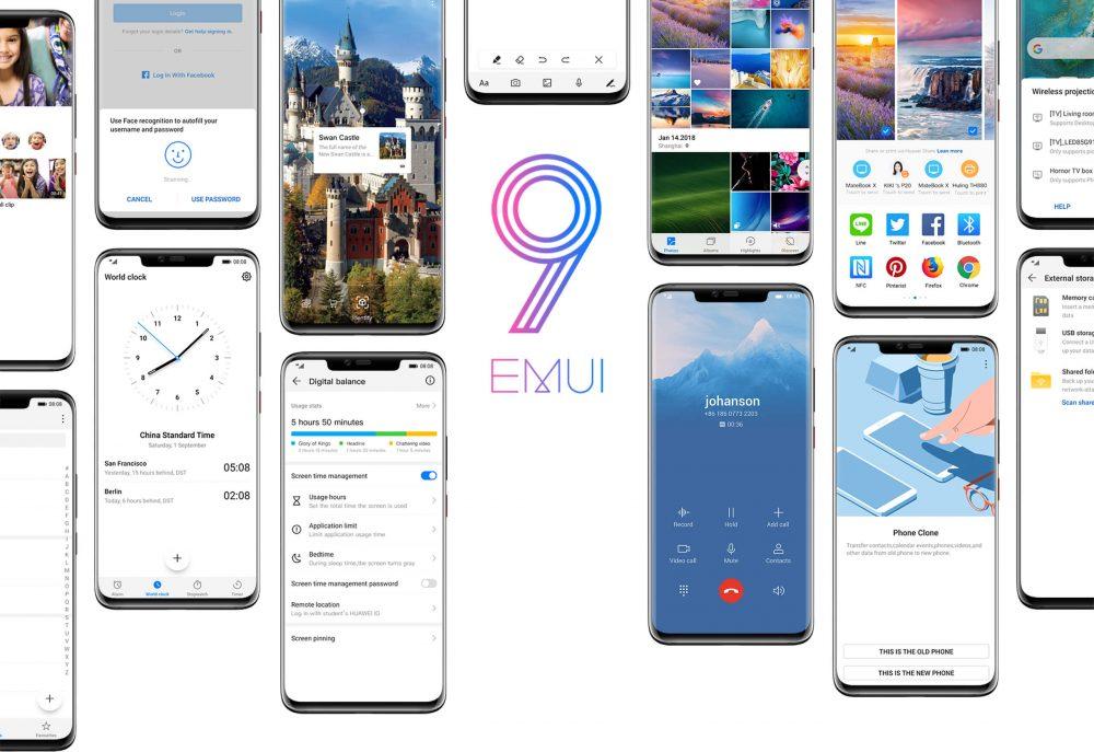 Huawei EMUI 9.0