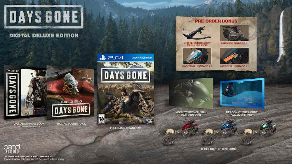 DAYS GONE Digital Deluxe Edition | Tech Coffee House