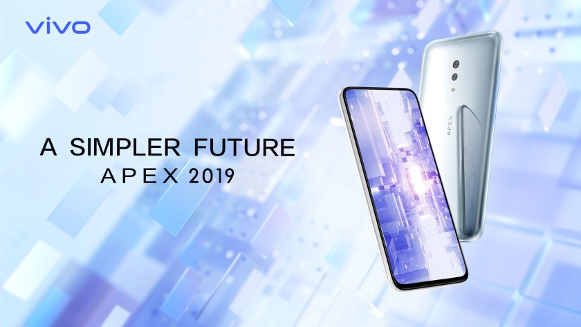 Vivo Unveils the New Futuristic APEX 2019 Concept Smartphone | Tech Coffee House