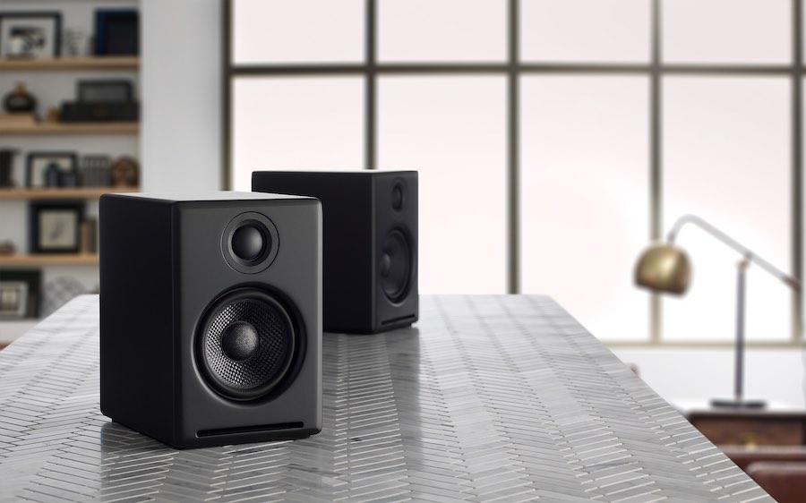 Audioengine A2+ Black   Tech Coffee House