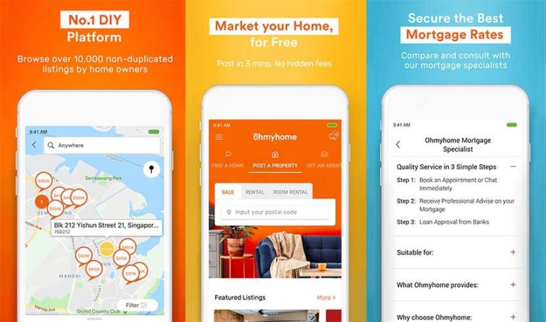 Buying or selling your property? Here's how Ohmyhome can help