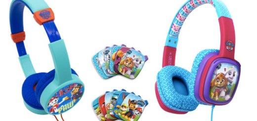 Paw Patrol has its own headphones