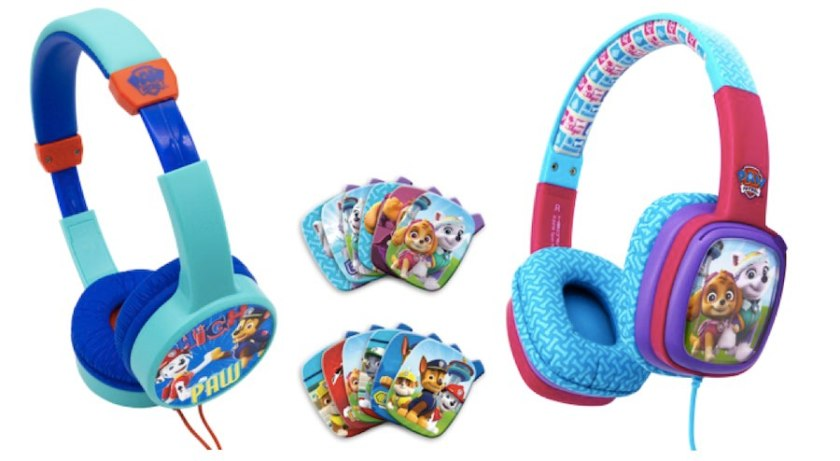Paw Patrol has its own headphones