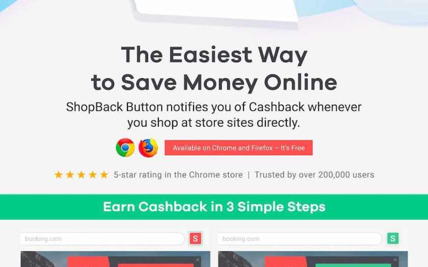Launch of the new and improved ShopBack button (browser extension) | Tech Coffee House