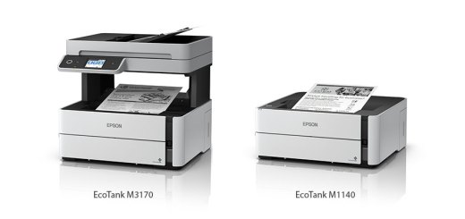 Reduce your printing costs with two new monochrome EcoTank Ink Tank Printers from Epson