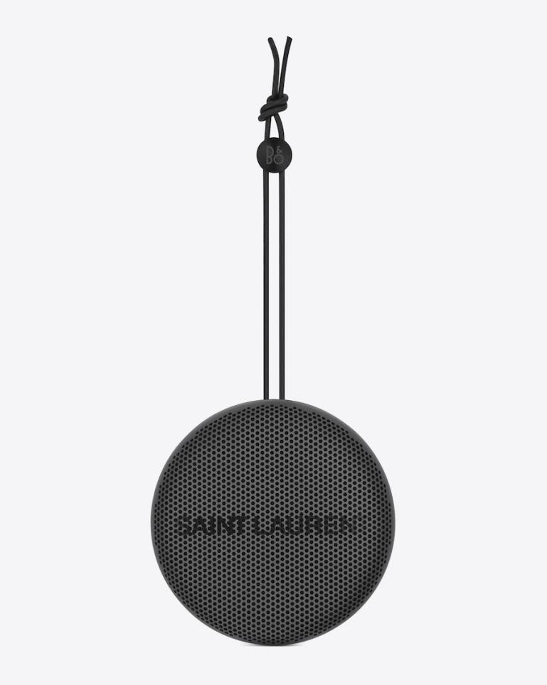 Bang & Olufsen and Saint Laurent bring you, limited edition speakers