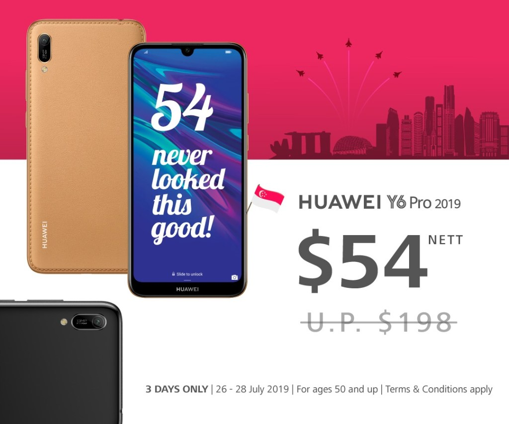 Huawei celebrates National Day with $54 Smartphone Deal