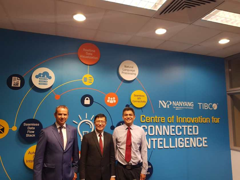 TIBCO and Nanyang Polytechnic announce new Centre of Innovation for Advanced Analytics