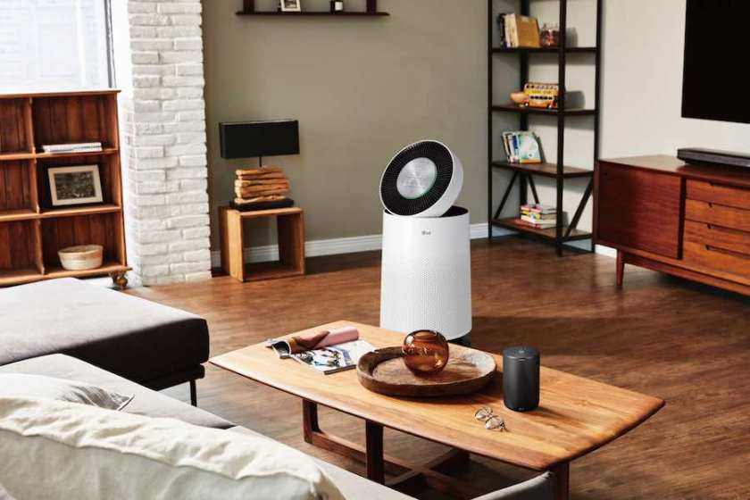 Fresh indoor air against effects of haze: LG PuriCare Air Purifier